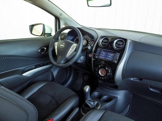 Nissan Note interior 2020
