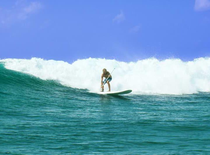 Surfing in Zanzibar