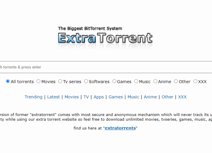 What is ExtraTorrent?