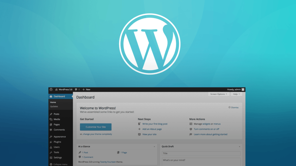 Adopting WordPress