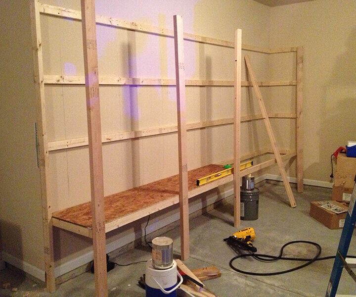 9 Tips On How to Build DIY Garage Shelving For Your House