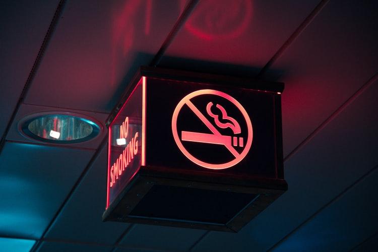 no smoking/stop smoking