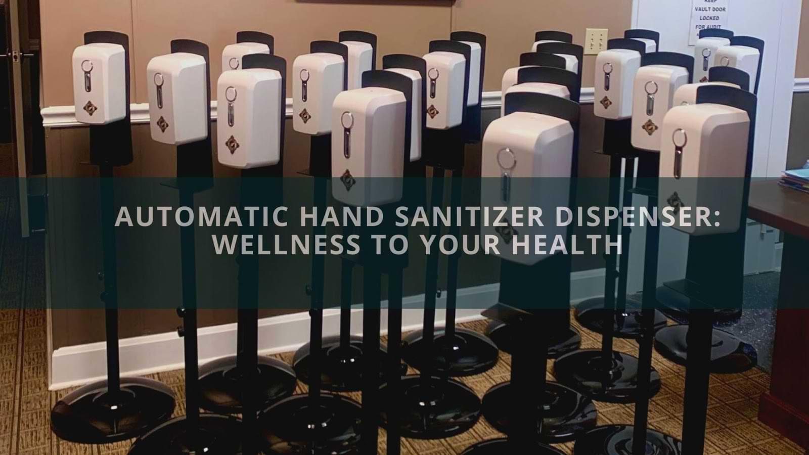 Automatic Hand Sanitizer Dispenser (1)