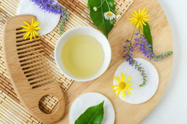 How can you take care of hair in Ayurveda ways