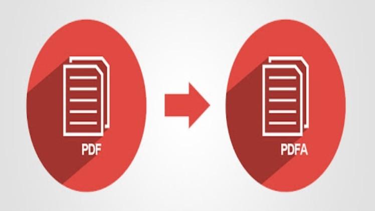 convert PDF to PDFA