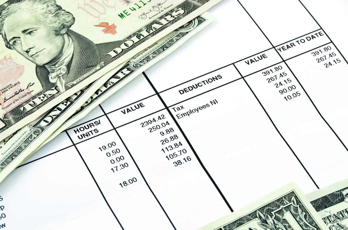 5 Reasons You Should Be Checking Your Pay Stubs
