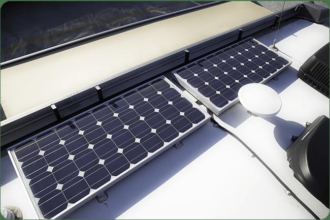 Go with a smaller solar