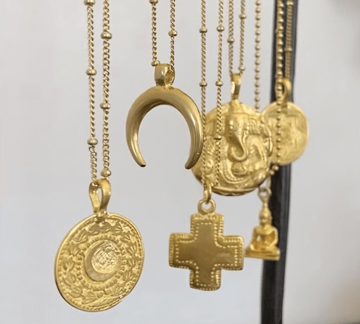 The Hike in Popularity of Coin Necklaces & How to Style Them