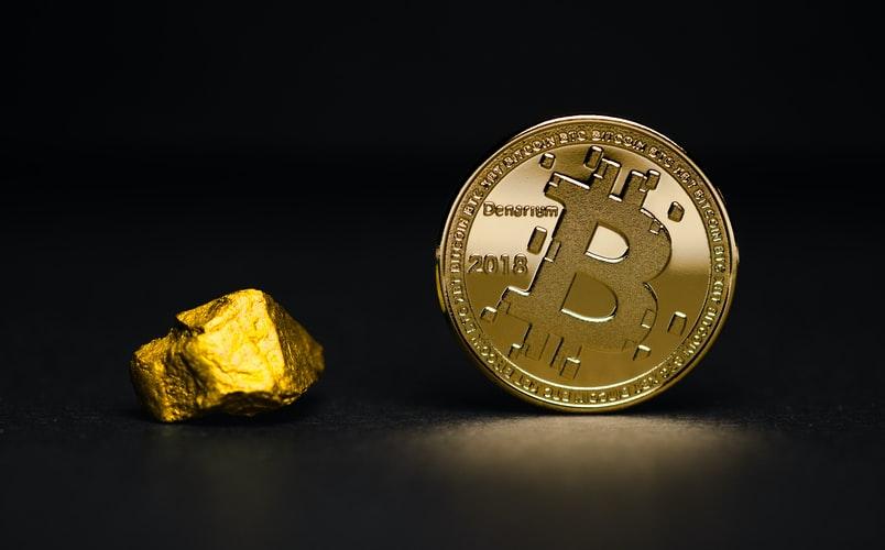 bitcoin & stock price