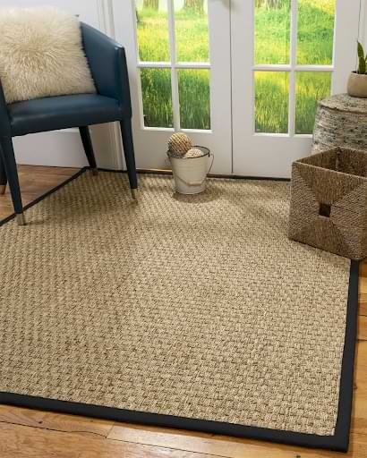 Major reasons to choose custom seagrass rugs over synthetic rugs
