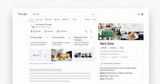Create a Google My Business account
