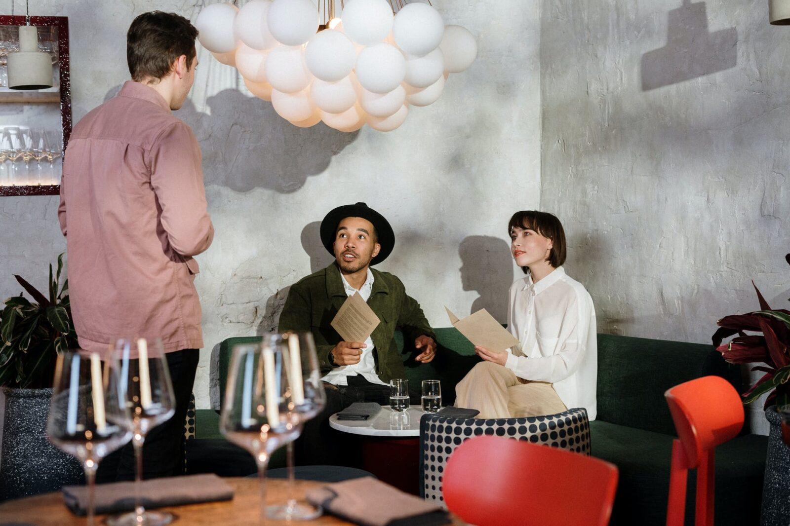 Finding Restaurants Online in Zetland